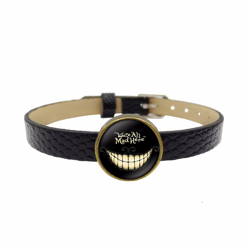 We're All Mad Here Cheshire Cat Bracelet