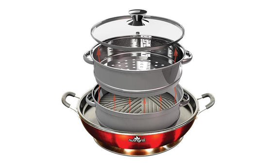 Nutrigrill Steamer Add-on