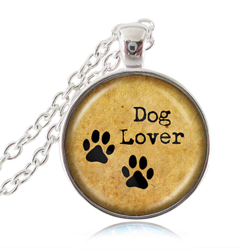 hold in tag silver dog or gold heart dogtag footprint grande personalised necklace upon products handprint