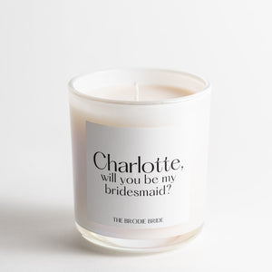 Custom Candle (White)