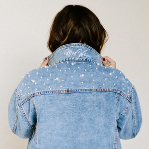 Pearl Denim (Collar Embellishment)