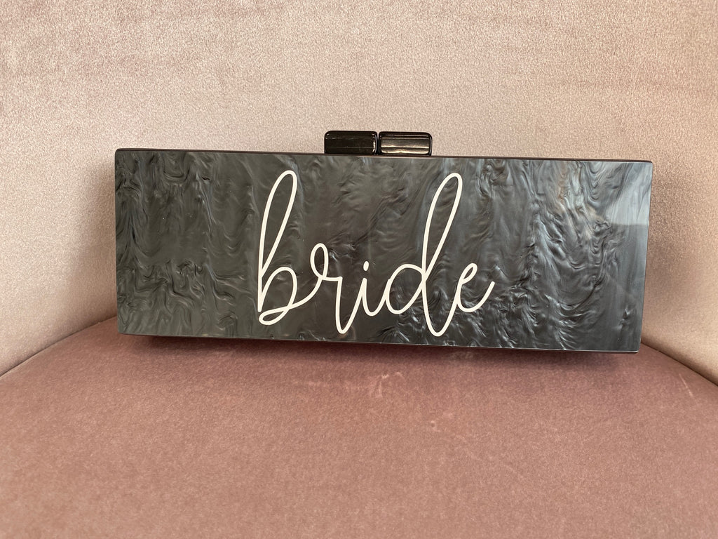 """Bride"" Clutch - (SAMPLE SALE)"