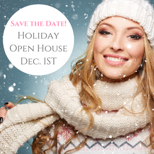Holiday Open House Dec. 1st
