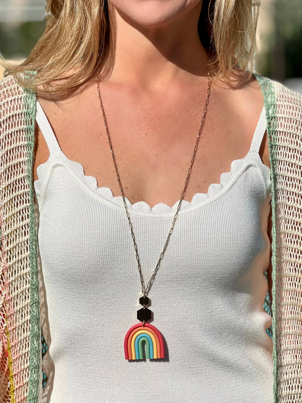 Chunky Bubble Sleeve Sweater