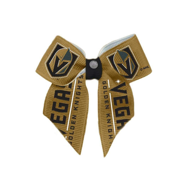 Vegas Golden Knights Pet Hair Bow