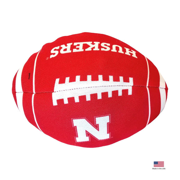 Nebraska Huskers Football Toss Toy