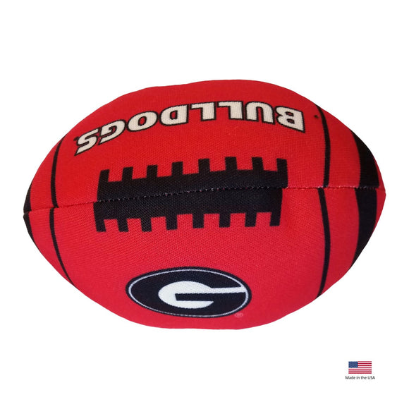 Georgia Bulldogs Football Toss Toy