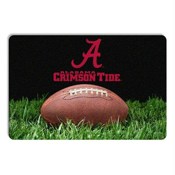 Alabama Crimson Tide Classic Football Pet Bowl Mat