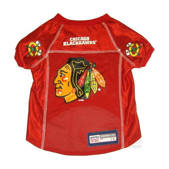 Chicago Blackhawks Pet Mesh Jersey LG