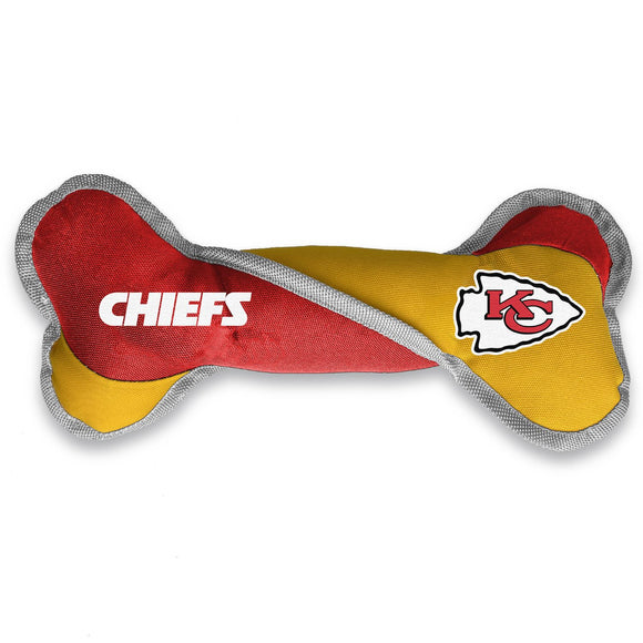 Kansas City Chiefs Pet Tug Bone