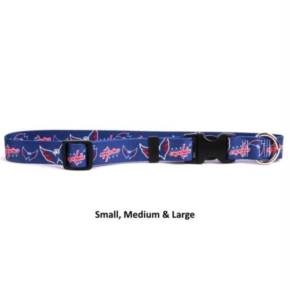 Washington Capitals Pet Nylon Collar - Medium
