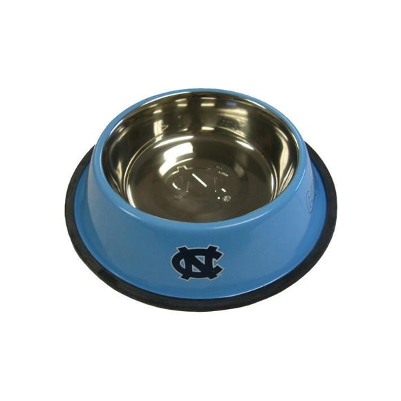 North Carolina Tarheels Stainless Steel Pet Bowl