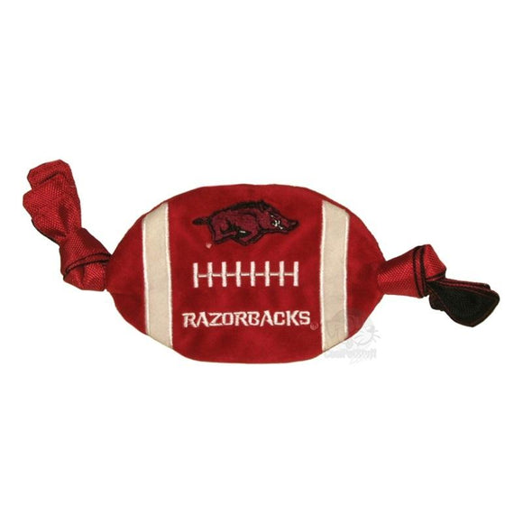 Arkansas Razorbacks Flattie Crinkle Football