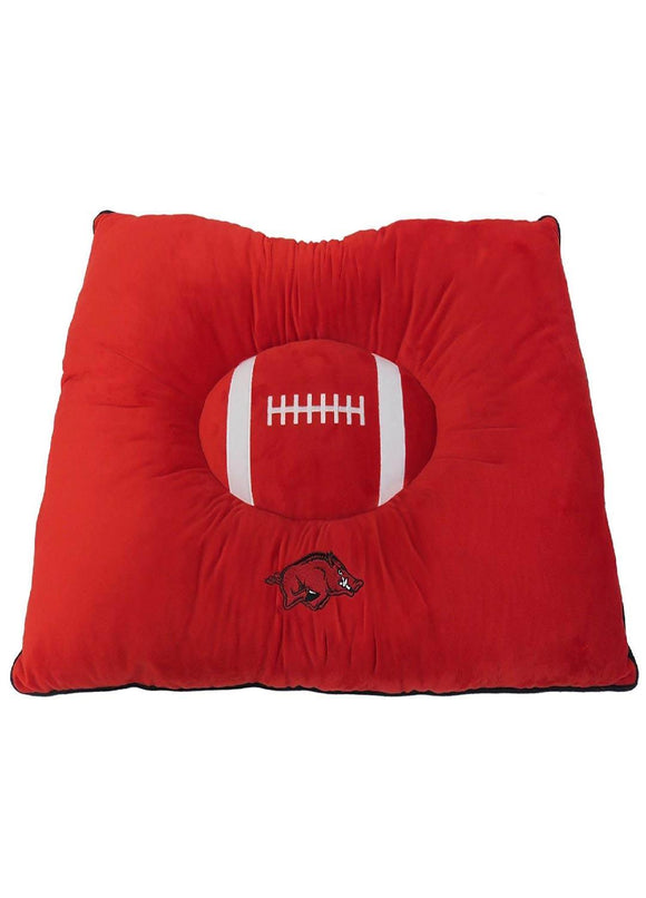 Arkansas Razorbacks Pet Pillow Bed