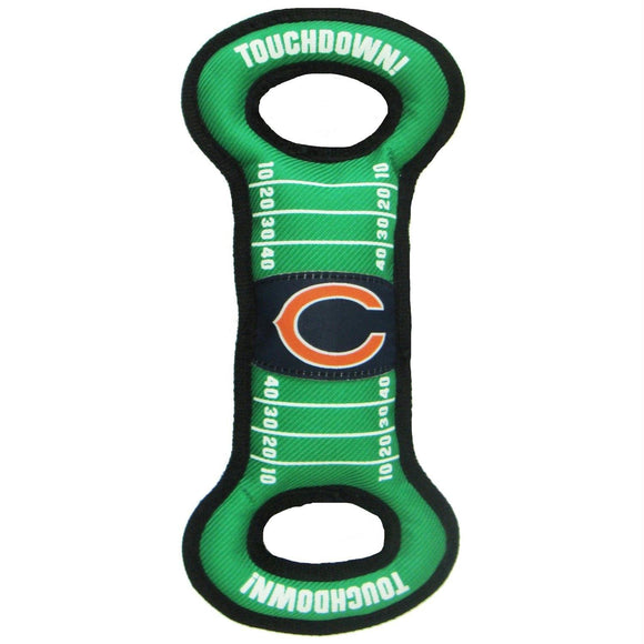 Chicago Bears Field Pull Pet Toy