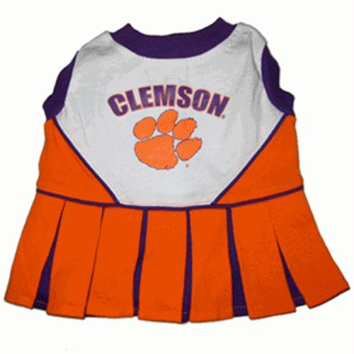 Clemson Cheerleader Dog Dress