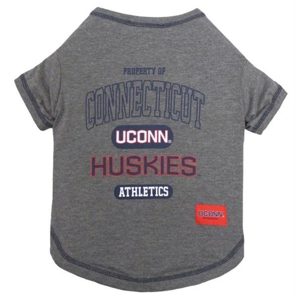 UConn Huskies Pet T-Shirt