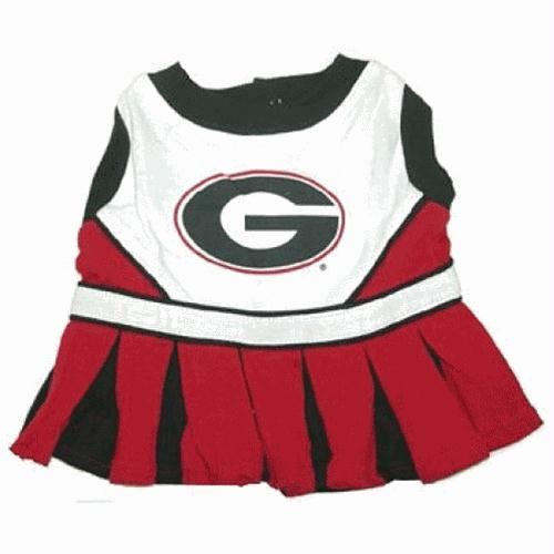 Georgia Cheerleader Dog Dress