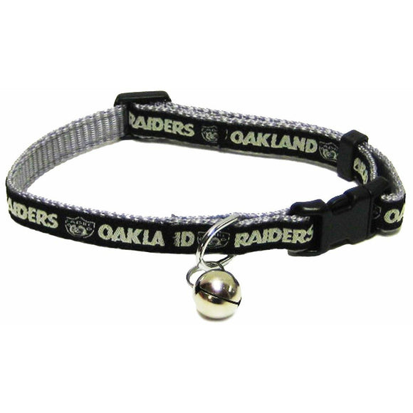 Oakland Raiders Breakaway Cat Collar