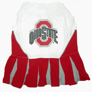 Ohio State Cheerleader Dog Dress