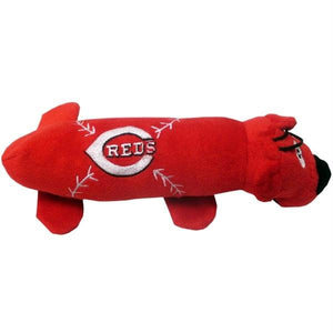 Cincinnati Reds Plush Tube Pet Toy