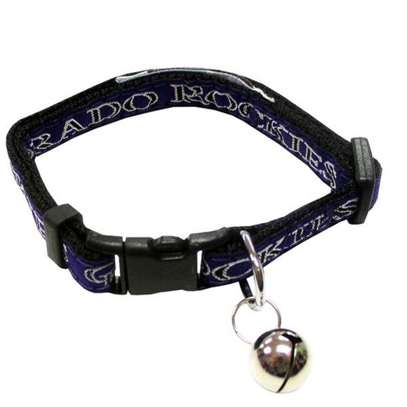 Colorado Rockies Breakaway Cat Collar