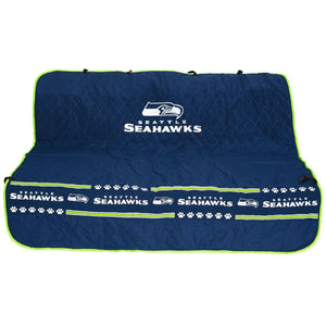 Seattle Seahawks Pet Car Seat Cover