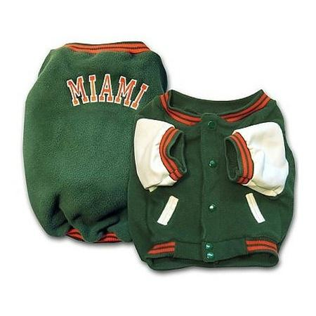 Miami Hurricanes Varsity Dog Jacket