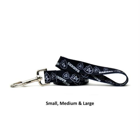 Oakland Raiders Nylon Leash