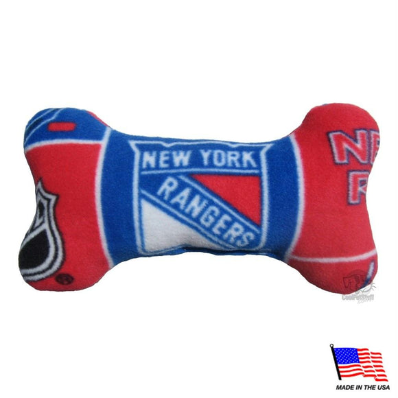 New York Rangers Plush Bone Toy