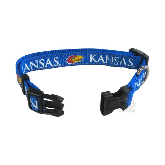 Kansas Jayhawks Pet Reflective Collar