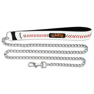 San Francisco Giants Leather Baseball Seam Leash