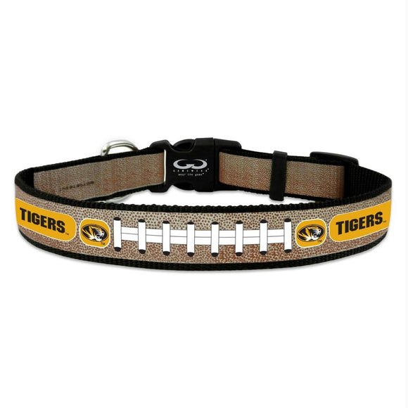 Missouri Tigers Reflective Football Pet Collar