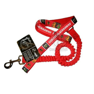 Chicago Blackhawks Bungee Ribbon Pet Leash