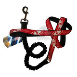 Oklahoma Sooners Bungee Ribbon Pet Leash