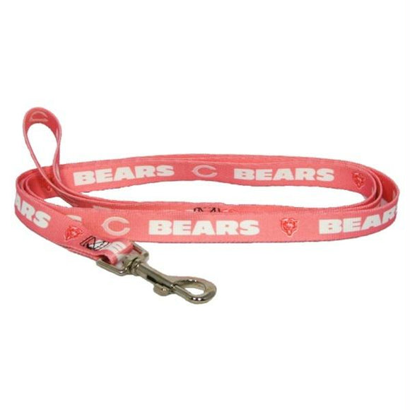 Chicago Bears Pink Pet Leash