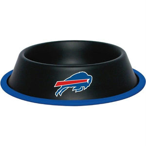 Buffalo Bills Gloss Black Pet Bowl