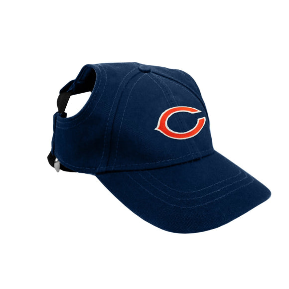 Chicago Bears Pet Baseball Hat - XL