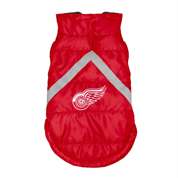Detroit Red Wings Pet Puffer Vest