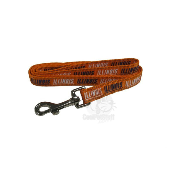 Illinois Fighting Illini Pet Reflective Nylon Leash