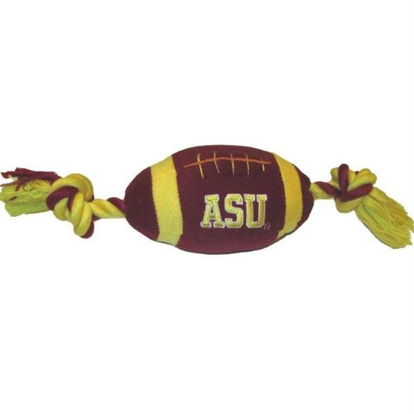 Arizona State Sun Devils Plush Football Pet Toy