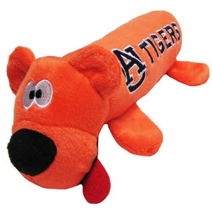 Auburn Tigers Plush Tube Pet Toy