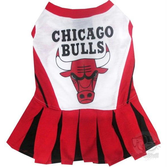 Chicago Bulls Cheerleader Pet Dress
