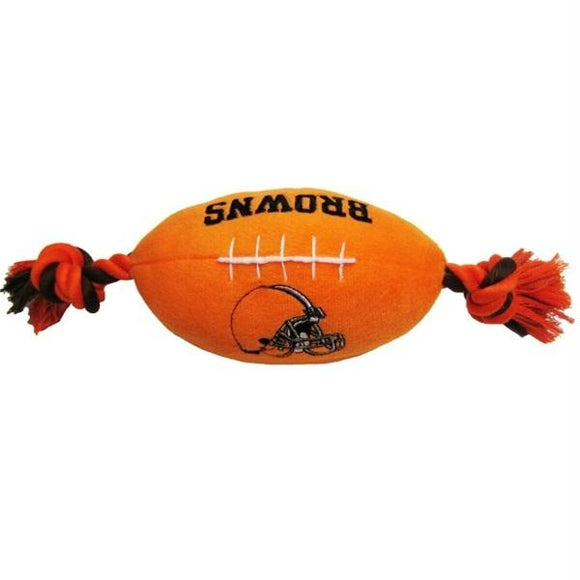Cleveland Browns Football Pet Toy