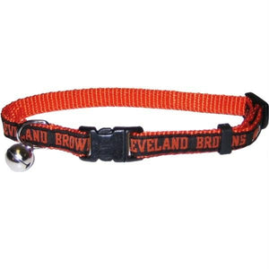 Cleveland Browns Breakaway Cat Collar