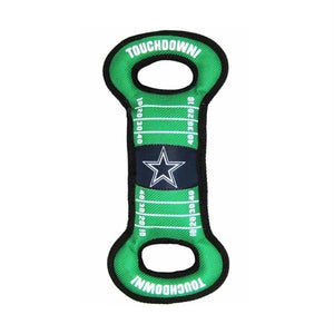 Dallas Cowboys Field Pull Dog Toy