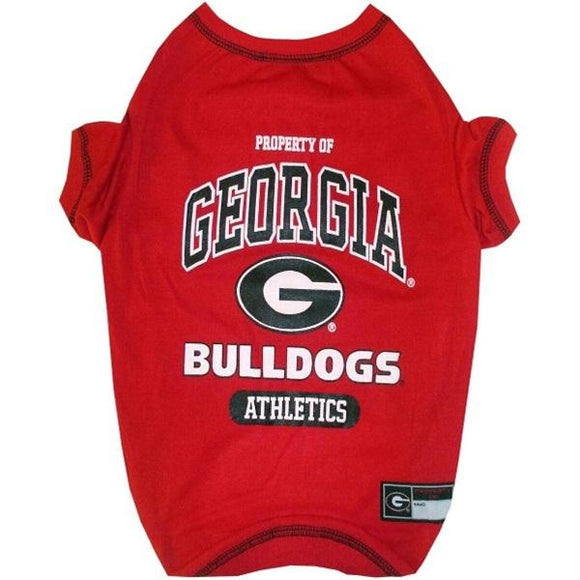 Georgia Bulldogs Pet Tee Shirt
