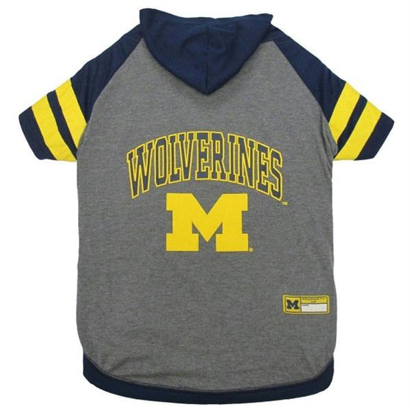 Michigan Wolverines Pet Hoodie T-Shirt