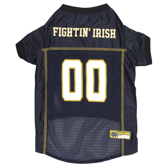 Notre Dame Fighting Irish Pet Mesh Jersey