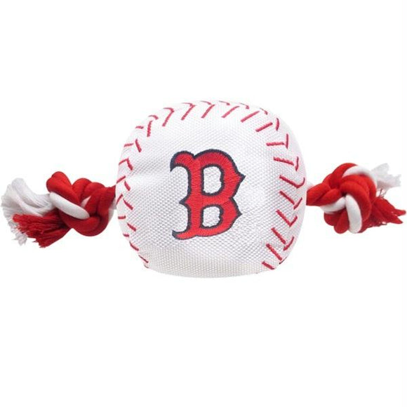 Boston Red Sox Nylon Baseball Rope Tug Toy